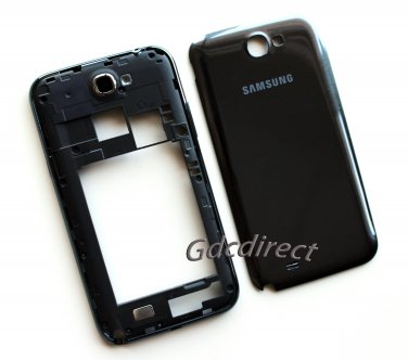 New Replacement Samsung Galaxy Note 2 N7100 Full Housing Cover Chassis Bezel Back Door Gray