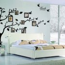 Family Tree Wall decal - Photo frame tree vinyl-Removable Vinyl Decal Family Photo Frame Tree