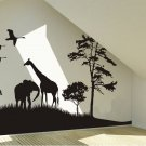 Africa image Wall decal -Africa image  Wall Vinyl-Africa image Stickers-Africa image wall vinyls