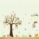 Nursery monkey wall decor-kid room  wall vinyl