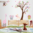 Nursery monkey wall stickers-bed room background  wall stickers-bed room  background wall vinyl