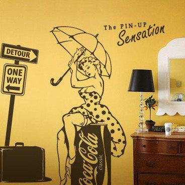 Marilyn Monroe Wall Decal -Marilyn Monroe Wall vinyl-Marilyn Monroe Wall Decor