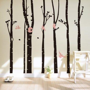 Trunk Wall Decal -Trunk Wall Vinyl-Trunk wall Vinyl Sticker-Tree wall docor