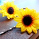 Sunflower Bobby Pin Set