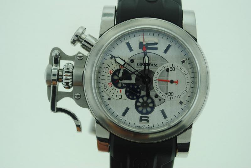 Graham Chronofighter Stainless Steel Limited Watch 2CRBS