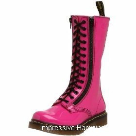 Dr. Doc Martens Womens 9733 Hot Pink Boot US 8 NIB