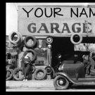 Web Site or Auction Template Auto Parts Navigational Header Logo & Custom Links