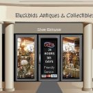 Web Site or Auction Template Antique Mall Navigational Header Logo & Custom Links