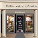 Web Site or Auction Template Antique Mall Navigational Header Logo & Custom Links