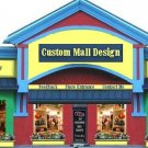 Web Site or Auction Template Giant Store Navigational Header Logo & Custom Links