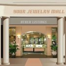 Jewelry Store Mall Auction Template or Web Site Header Logo Your Custom Links