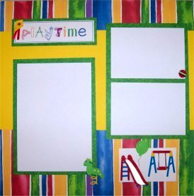 Custom Made 12x12 Scrapbook Album with 20 Pages