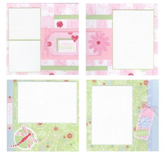 Custom Made 8x8 Scrapbook Album with 20 Pages