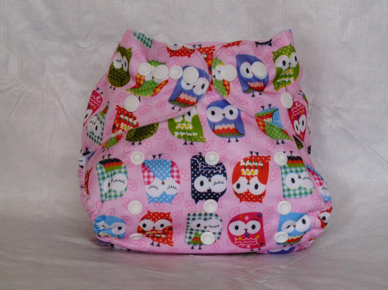 Owl- Pink