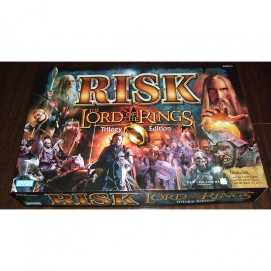 The Lord of the Rings Trilogy Edition Risk Board Game