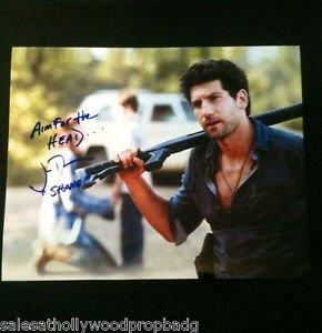 Jon Bernthal Shane Walsh The Walking Dead HAND signed 8X10 W/COA