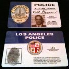 "Bill Gannon ""DRAGNET"" 60's Tv Show ID Card NEW"
