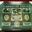 """Gangster Squad"" ULTIMATE COLLECTOR BADGE SHADOW BOX DISPLAY PIECE!"