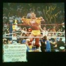Hulk Hogan WWF/WWE Signed Hulkamania 8x10 Photo Schwartz Sports COA