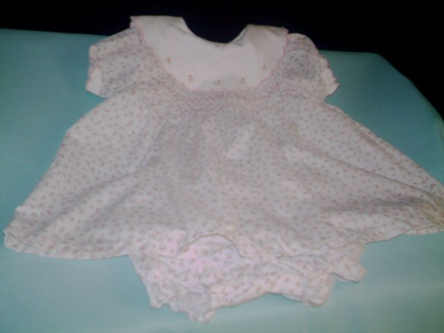3 - 6 mths - Fine& Dandy - Infant girl dress/ w pants