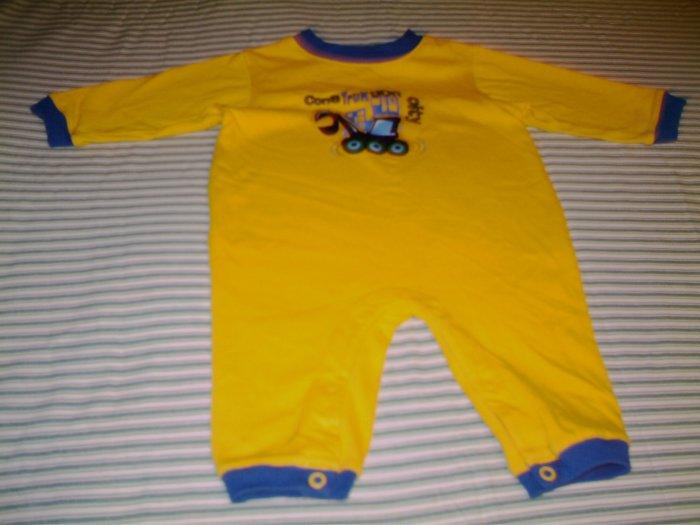 3 - 6 MTHS - SIMPLY BASICS -BABY BOY JUMPSUIT