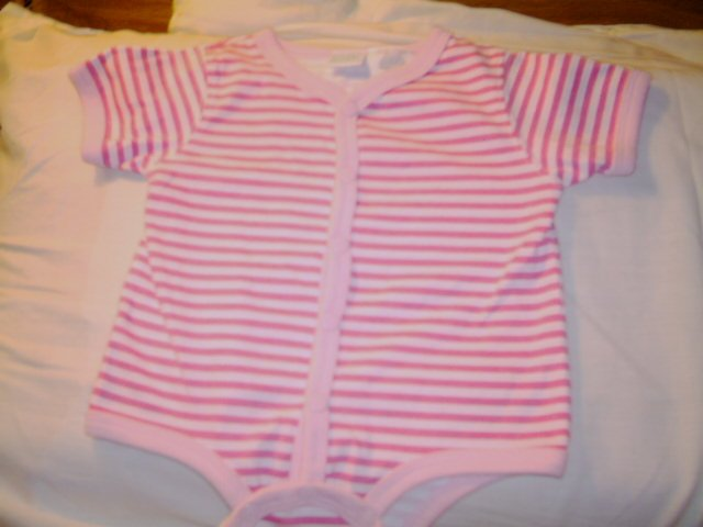 0 - 3 MTHS - SIMPLY BASIC - INFANT GIRL ROMPER