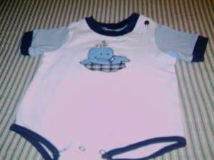6 - 9 MTHS - SESAME STREET - INFANT BOY ROMPER