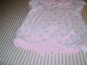 6 - 9 MTHS - LITTLE LINDSEY - INFANT GIRL ROMPER
