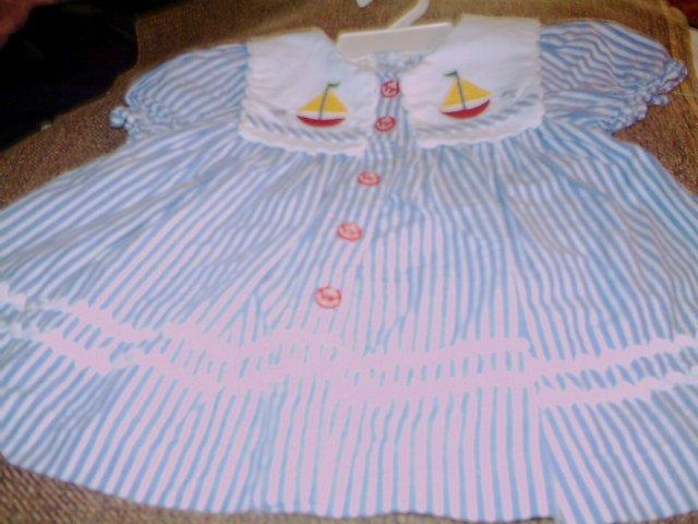 12 MTHS - BABYTOGS - INFANT GIRL - DRESS SET