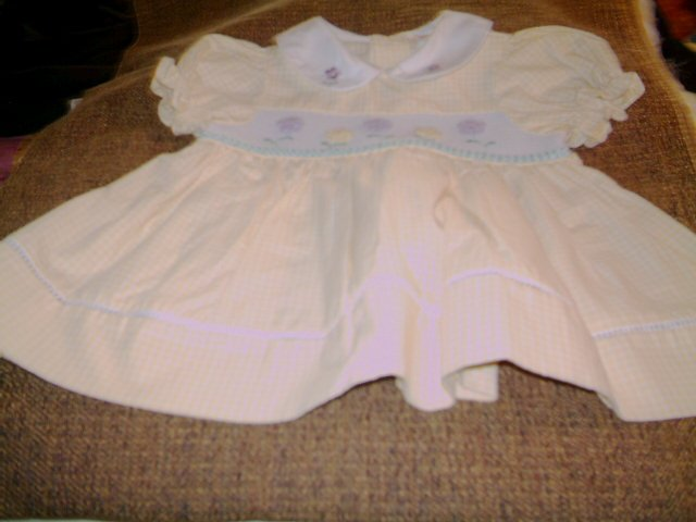 12 MTHS - INFANT GIRL BABY DRESS