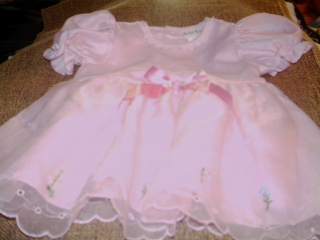 12 MTHS - BABY TOGS -INFANT GIRL- DRESSY DRESS