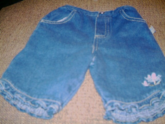 12 MTHS - SESAME STREET - INFANT GIRL BLUE PANTS