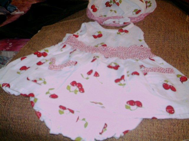 12 MTHS - B.T. KIDS INFANT GIRL DRESS SET