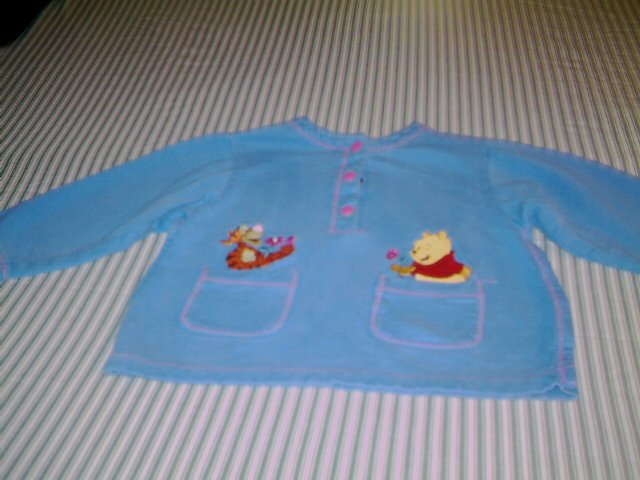 24 MTHS - POOH - INFANT GIRL - KNIT JACKET