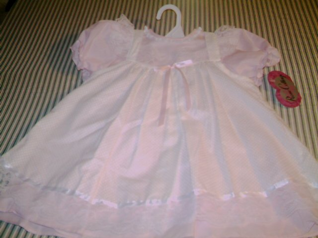 24 MTHS - ROSE COTTAGE - INFANT GIRLS - PINAFORE DRESS