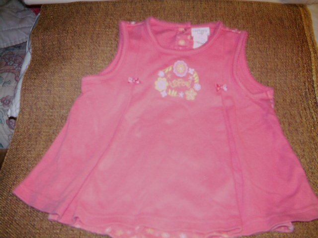 18-24 MTHS - CARTER'S KIDS - INFANT GIRL- ROMPER DRESS