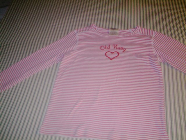 SIZE 7 - OLD NAVY -GIRLS - LONG SLEEVE  SHIRT