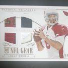 2014 Panini National Treasures Rookie NFL Gear Dual Materials ‪#‎RGSLTH‬ Logan Thomas 96/99