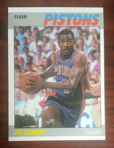 1987-88 Fleer #31 Joe Dumars