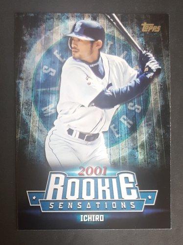 2015 Topps Update Rookie Sensations #RS2 Ichiro Suzuki
