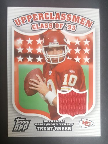 2006 Topps Draft Picks and Prospects Upperclassmen Jersey #UCTGR Trent Green