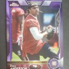 2015 Topps Chrome Purple Refractors #169 Dres Anderson