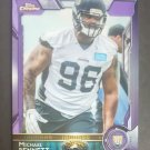 2015 Topps Chrome Purple Refractors #112 Michael Bennett