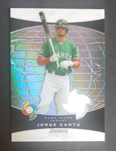 2009 Bowman Sterling WBC Relics Refractors #JCC Jorge Cantu