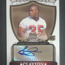2007 Bowman Sterling #TC Thomas Clayton AU RC