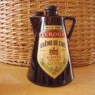 Vintage Collectors Liqueur Ceramic Bottle Coffee Pot-37a