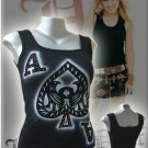 Ace of Spades 'Take a Gamble' Tank Top Black