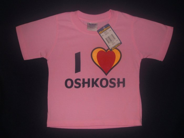 NWT Osh Kosh Pink Shirt 2Y