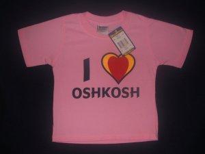 NWT Osh Kosh Pink Shirt 4Y