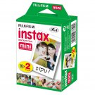 1 Pack FujiFilm Fuji Instax Mini Film, 20 Instant Photos Polaroid 7S 8 25 50S 70 X122